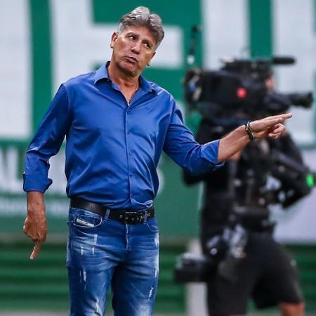 Renato Gaúcho durante Palmeiras x Grêmio, pela final da Copa do Brasil - Lucas Uebel/Grêmio FBPA