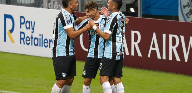 Copa Sul-Americana   Grêmio faz seis gols em 28 min e bate Aragua por 8 a 0