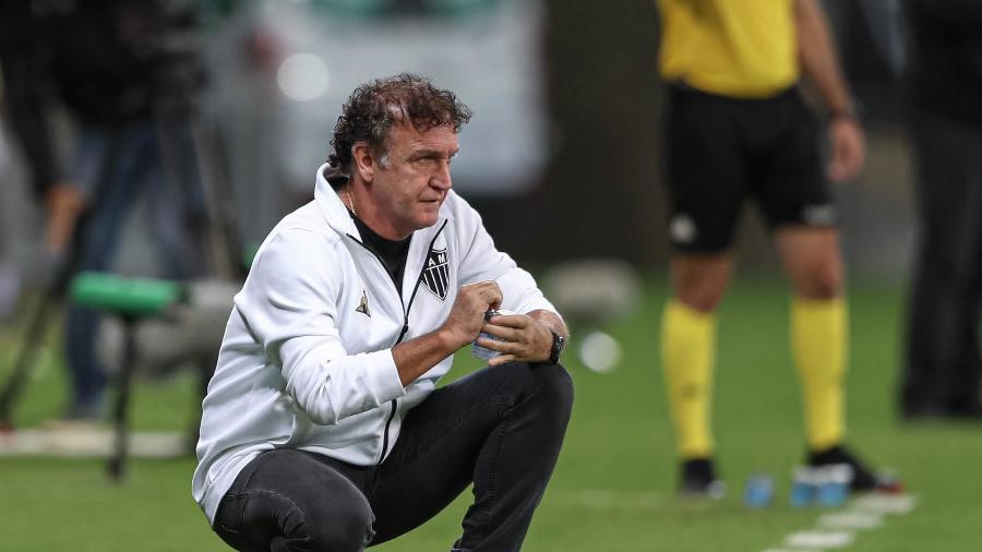 Cuca se precaveu, mudou de opinião por causa de zebras, e escalou o que tinha de melhor contra o Remo - Pedro Souza/Atlético-MG