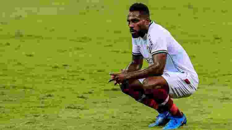 Luccas Claro é bom exemplo para um Fluminense que se supera até o limite, mas vê o esforço ser insuficiente - RODNEY COSTA/ESTADÃO CONTEÚDO - RODNEY COSTA/ESTADÃO CONTEÚDO