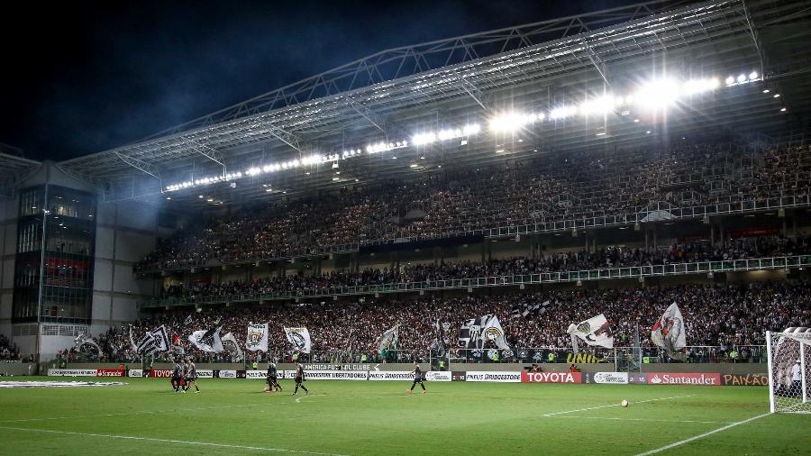 Torcida do Atlético-MG no estádio Independência, em Belo Horizonte - Bruno Cantini/Atlético-MG