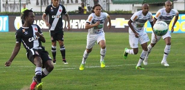 Andrezinho deixou o seu, mas não foi suficiente para a vitória do Vasco neste sábado - Carlos Gregório Jr/Vasco.com.br
