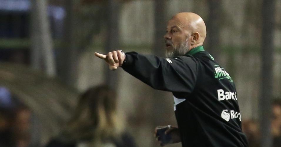 Antonio Carlos Zago comanda o Juventude contra o São Paulo