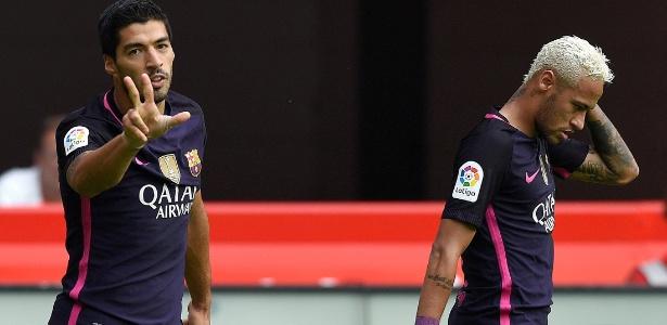 Suárez e Neymar são fundamentais ao Barcelona