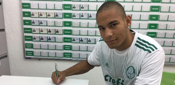 Gabriel Furtado, emprestado ao Palmeiras com opção de compra - Assessoria de Imprensa Paraná Clube