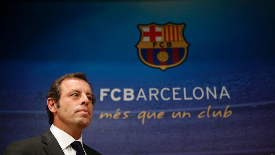 Sandro Rosell é ex-presidente do Barcelona - Albert Gea/Reuters