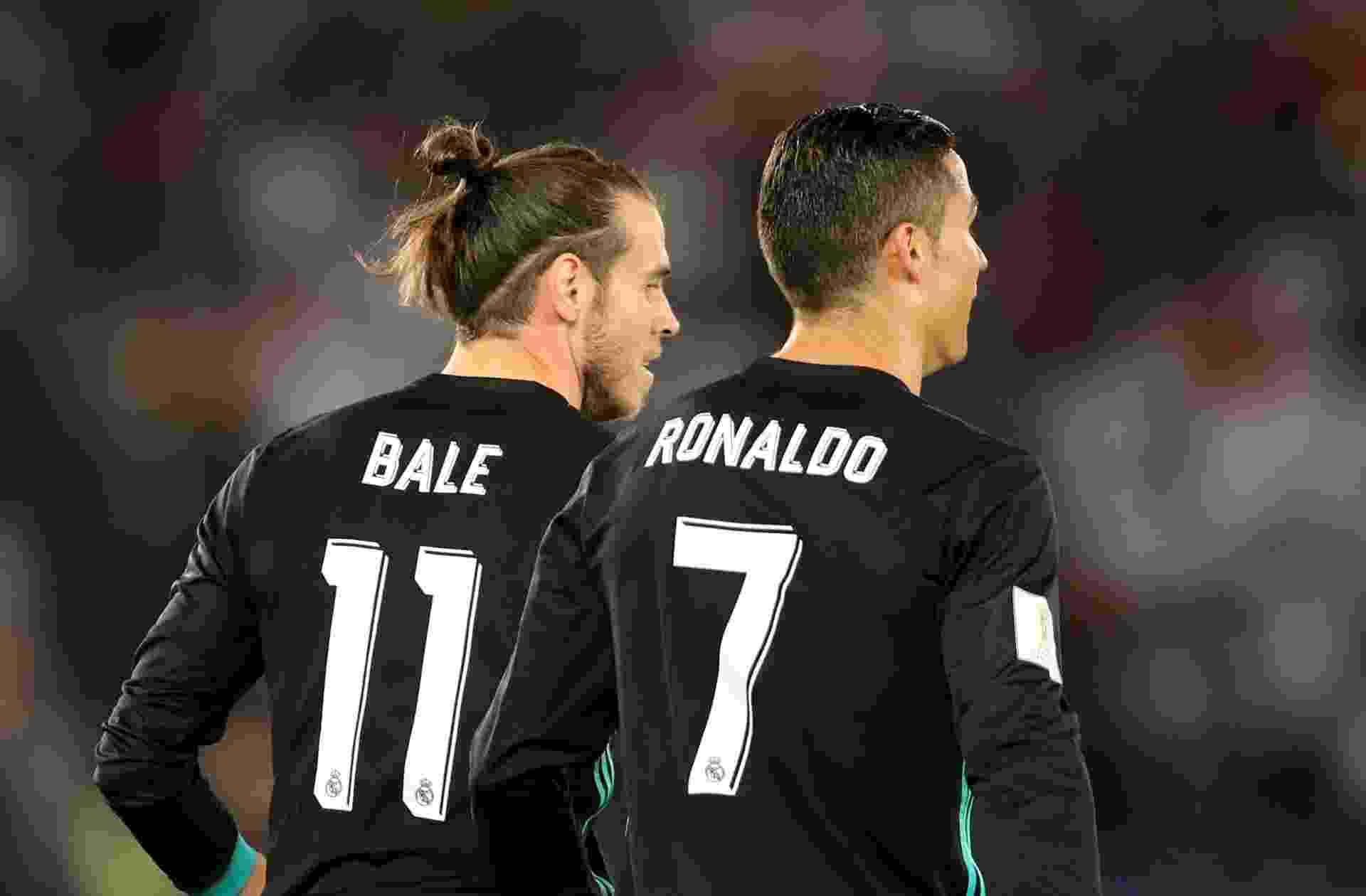Bale e Cristiano Ronaldo marcaram pelo Real contra o Al Jazira - REUTERS/Ahmed Jadallah