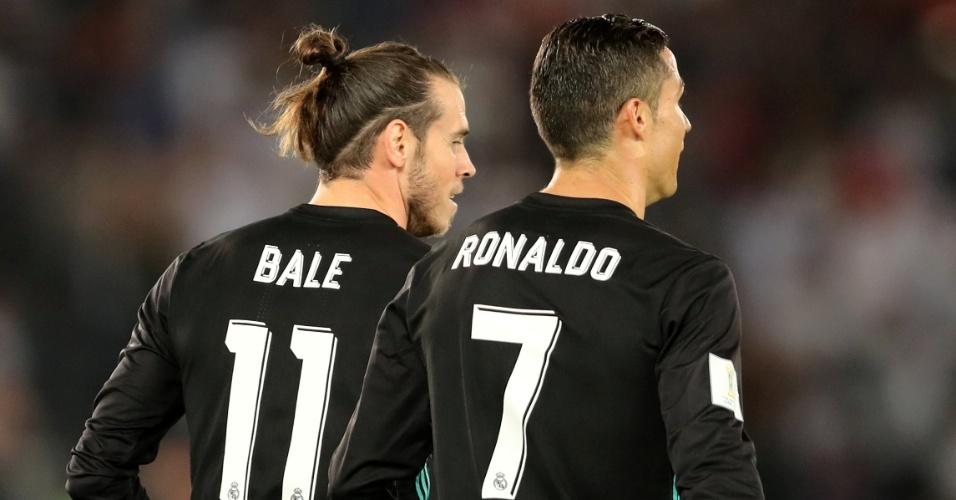 Bale e Cristiano Ronaldo marcaram pelo Real contra o Al Jazira