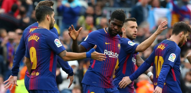 Umtiti é titular absoluto do Barcelona nesta temporada