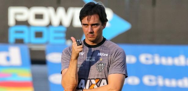Mesmo efetivado, treinador seguirá avaliado pela diretoria nos próximos seis meses - Bruno Cantini/Atlético-MG