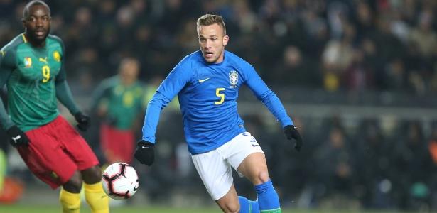 Arthur entrou para a seleção das revelações da Liga dos Campeões da Europa - Pete Norton/Getty Images