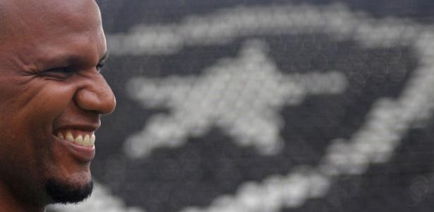 Jefferson fará o jogo de despedida contra o Paraná na segunda, no Nilton Santos - VITOR SILVA/SSPRESS/BOTAFOGO