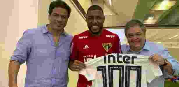 Jucilei completa 100 jogos com a camisa do São Paulo neste domingo - Divulgação/SPFC - Divulgação/SPFC