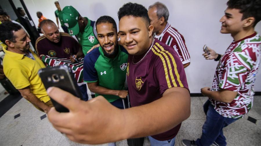 Everaldo está nos planos do Fluminense - Lucas Merçon/Fluminense