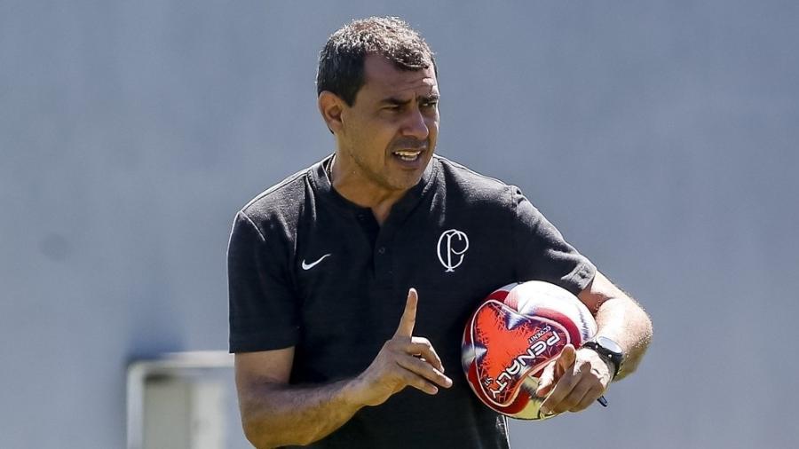 Fábio Carille tem semana cheia para recuperar o time e mirar o clássico contra o Santos - Rodrigo Gazzanel/Ag. Corinthians