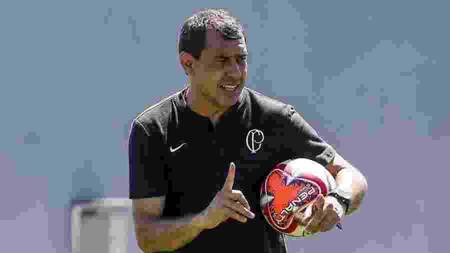 Fábio Carille diz que tratar Sampaoli como inovador é desrespeitar trabalho de Fernando Diniz - Rodrigo Gazzanel/Ag. Corinthians