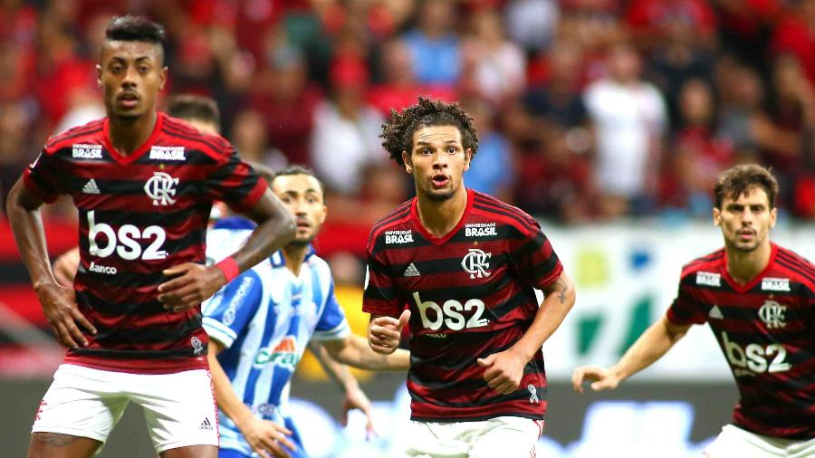 Lance de CSA x Flamengo: abismo entre os líderes e os times da parte de baixo da tabela aumentou - ALEX FARIAS/PHOTOPRESS/ESTADÃO CONTEÚDO