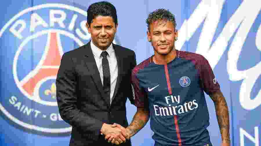 PSG não cedeu ao desejo de Neymar e recusou ofertas do Barcelona - Lionel Bonaventure/AFP Photo