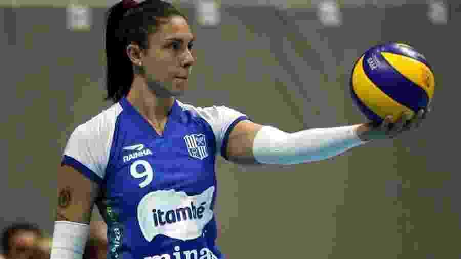 Bruna Honório foi campeã pelo Minas nesta temporada - Acervo Pessoal
