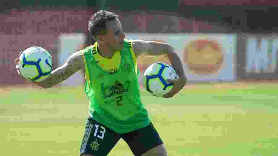 Rafinha já está bem integrado ao elenco do Flamengo - Alexandre Vidal / Site oficial do Flamengo