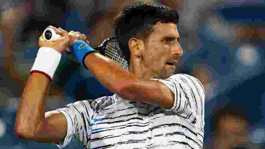 Novak Djokovic - Aaron Doster/USA TODAY Sports