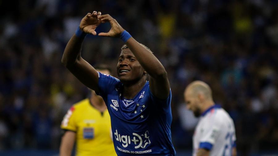 Orejuela deixa o Cruzeiro para reforçar o São Paulo no mercado da bola - Fernando Moreno/AGIF
