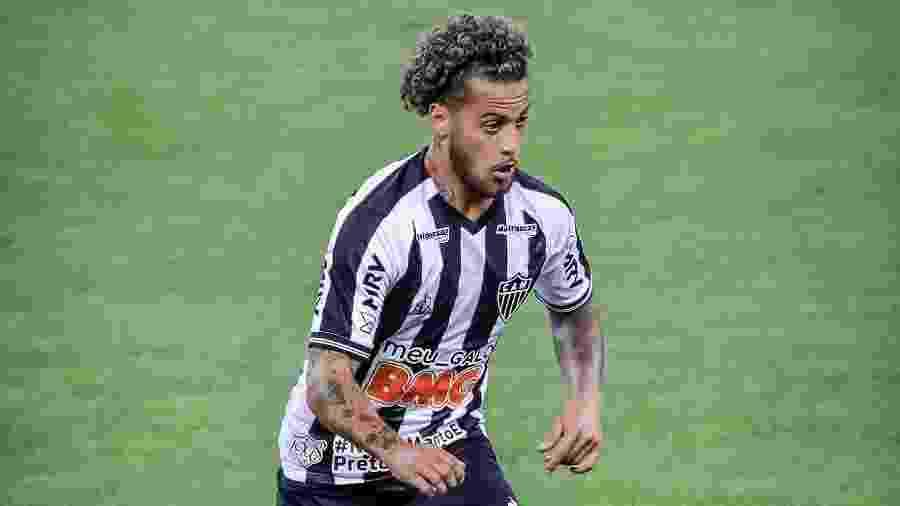 Guga, lateral direito do Atlético-MG, não conseguiu exercer função designada por Sampaoli - Bruno Cantini/Atlético-MG