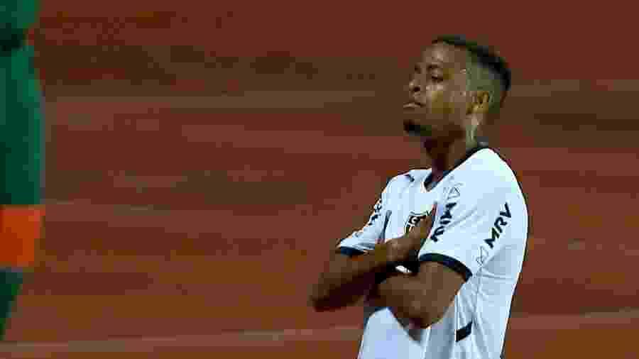 19/09/2020 - Atlético-GO x Atlético-MG - Keno, do Atlético-MG, comemora gol - Carlos Costa/Futura Press/Estadão Conteúdo