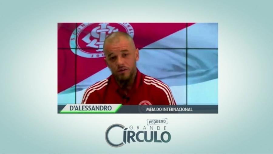 """D""""Alessandro compara Gre-Nal a River Plate X Boca Juniors - Reprodução/SporTV"""