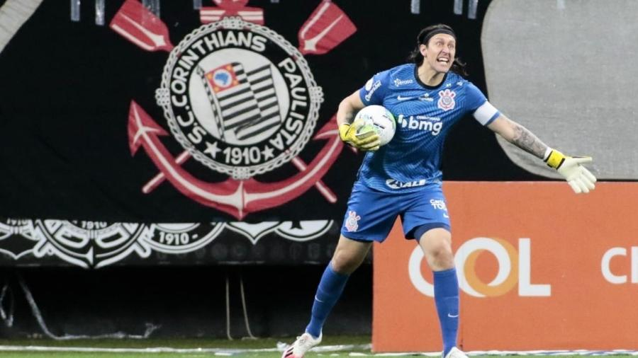 Cássio está confiante na conquista da vaga para a próxima edição da Copa Libertadores  - Rodrigo Coca/Agência Corinthians