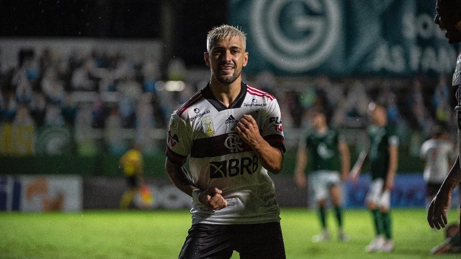 Arrascaeta foi pré-convocado para a seleção uruguaia - Alexandre Vidal/Flamengo