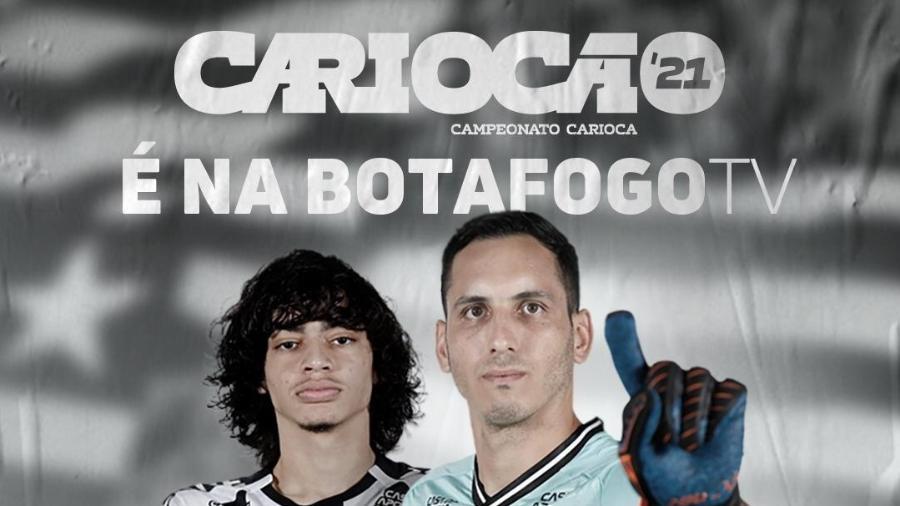 Botafogo lança plataforma para a transmissão do Carioca 2021 - Reprodução / Twitter Botafogo
