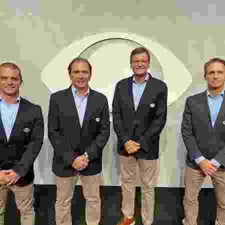 Max Wilson, Reginaldo Leme, Sergio Mauricio e Felipe Giaffone serão a equipe de transmissão da Fórmula 1 na Band - Tatiane Moreno/Band - Tatiane Moreno/Band