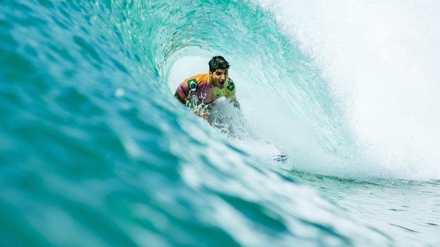 Gabriel Medina estreia na Tóquio-2020 na noite deste sábado (24), no primeiro dia do surfe nos Jogos Olímpicos - Tony Heff/World Surf League via Getty Images