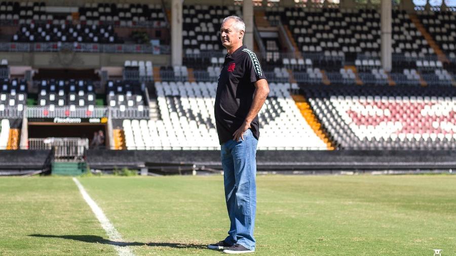 Lisca, técnico do Vasco, em São Januário - Vitor Brügger/Vasco