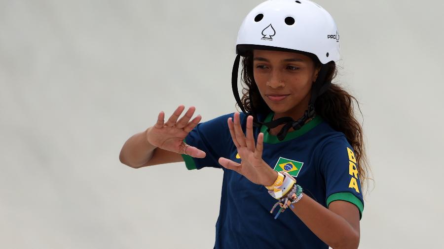 Rayssa Leal, medalha de prata nas Olimpíadas de Tóquio-2020 - Ezra Shaw/Getty Images