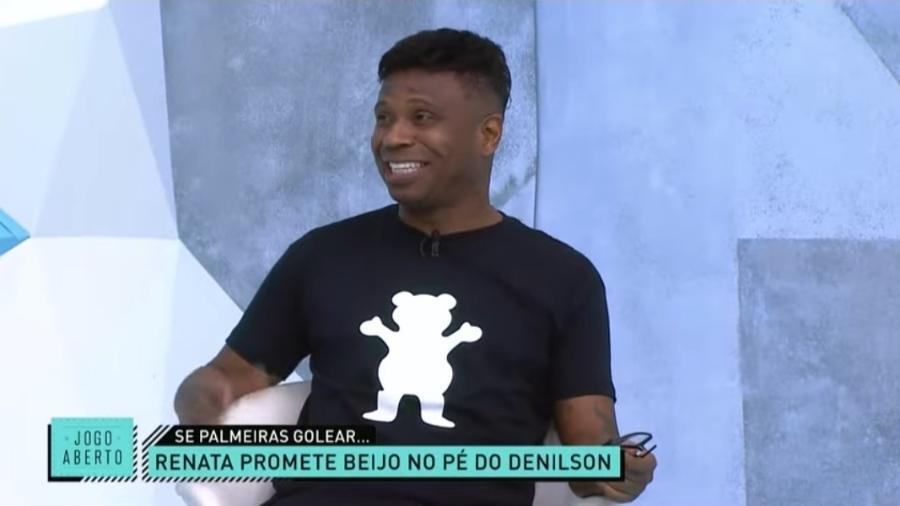 Edílson Capetinha projeta vitória do Flamengo sobre o Palmeiras - Reprodução/Band