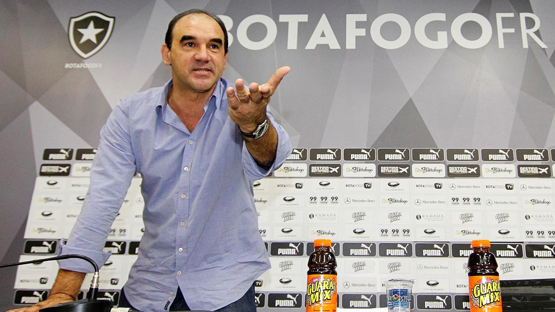 Ricardo Gomes assume como treinador do Botafogo para a Série B do Campeonato Brasileiro