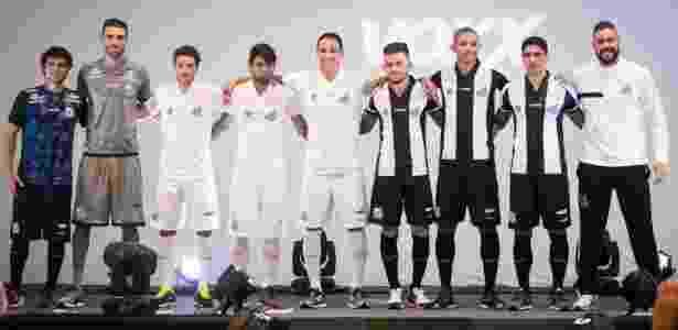 Novos uniformes do Santos, desenhados pela Kappa - Ricardo Saibun/Santos FC - Ricardo Saibun/Santos FC
