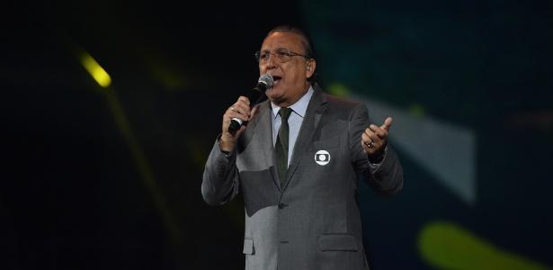 A frustração de Galvão Bueno e de todos com a Copa América - Divulgação Globo/Alex Carvalho