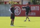 Inter detecta desgaste e tira D'Alessandro de jogo contra o Paysandu (Foto: Marinho Saldanha/UOL)