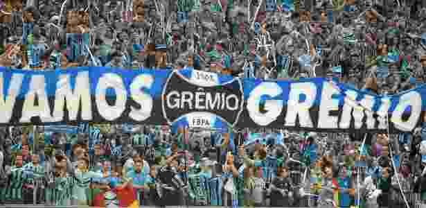 Time gaúcho terá cinco mil torcedores no estádio do Lanús, dia 29 - Ricardo Rímoli/AGIF