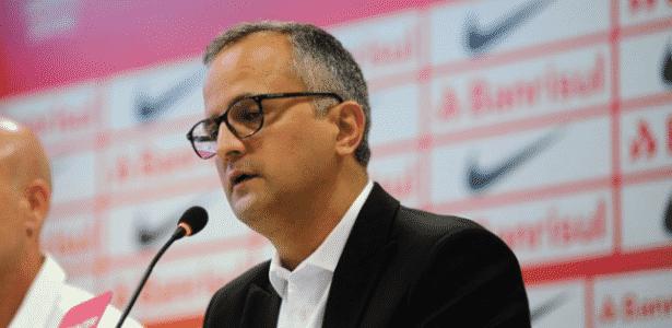 Roberto Melo, vice de futebol do Internacional, comandou a pasta neste ano - Ricardo Duarte/Inter - Ricardo Duarte/Inter