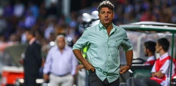 Renato Gaúcho, técnico do Grêmio, não quer dar qualquer manifestação sobre o clássico