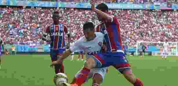 Bahia abriu o placar no primeiro tempo e aumentou no segundo; Vitória só descontou - Mauricia da Matta/Vitória