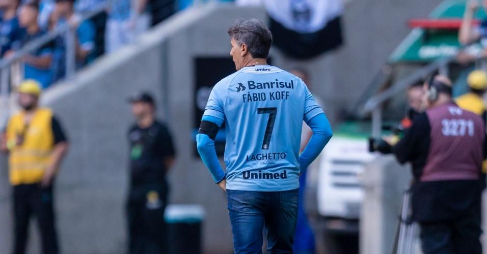 Renato Gaúcho comanda Grêmio em clássico contra o Internacional