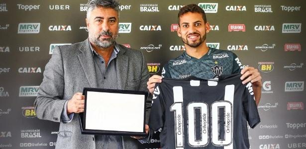 No Galo desde os 12 anos, zagueiro completou 100 jogos como jogador profissional