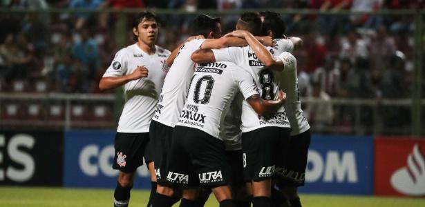 Corinthians se recuperou na Libertadores ao derrotar o Deportivo Lara por 7 a 2