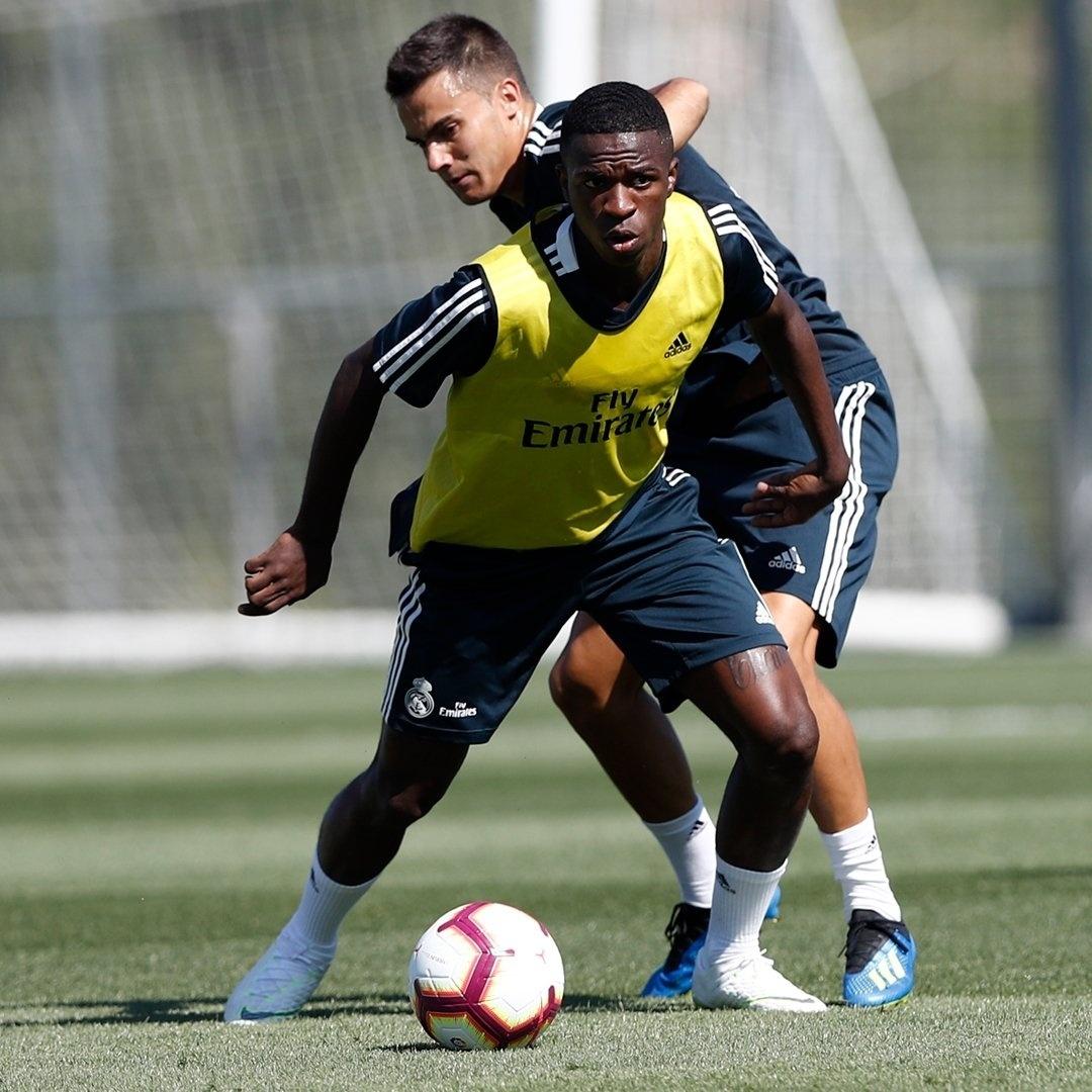 Vinicius Jr Real Madrid treino