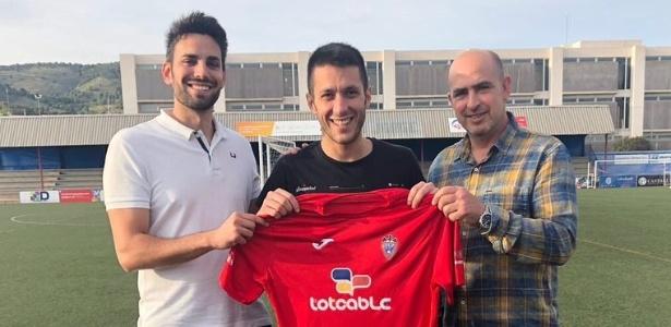 Jordi foi anunciado pelo Ibi em junho deste ano - Reprodução/Twitter